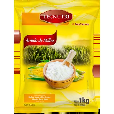 Amido de Milho  1Kg Tecnutri pacote PCT