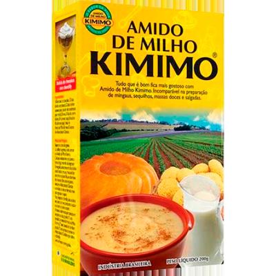 Amido de Milho  200g Kimimo caixa UN