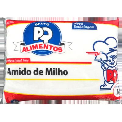 Amido de Milho  1Kg PQ Alimentos pacote PCT