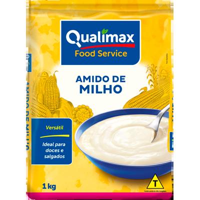 Amido de Milho  1Kg Qualimax pacote PCT