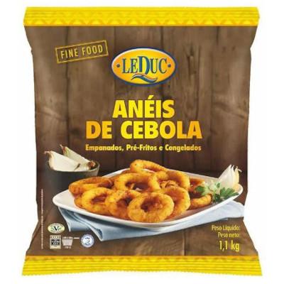 Anel de Cebola empanado por Kg Leduc pacote KG