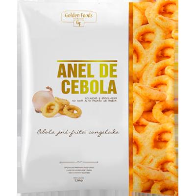 Anel de Cebola empanado por Kg Quality pacote KG