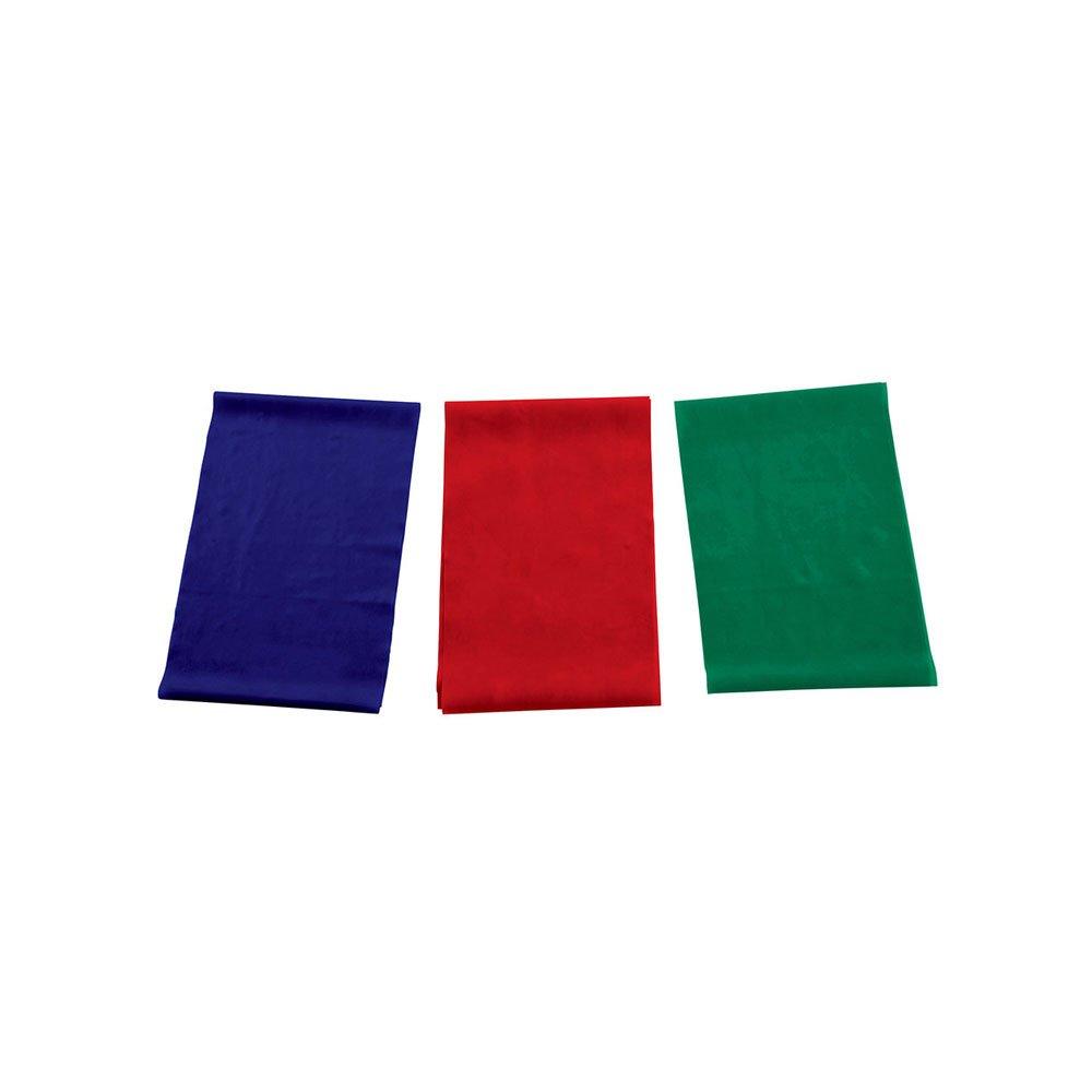 Anel de Pilates Elástico PFBL14 Azul, Vermelho e Verde unidade Proform  UN