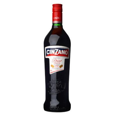 Aperitivo Cinzano Rosso 1757 de 900ml a 1Litro Cinzano garrafa UN
