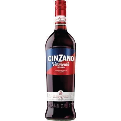 Aperitivo Cinzano Rosso de 900ml a 1Litro Cinzano garrafa UN
