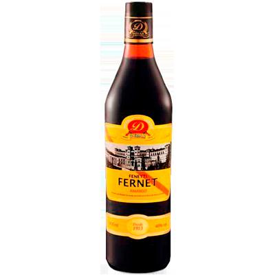 Aperitivo Fernet Fenetti de 900ml a 1Litro Dubar garrafa UN