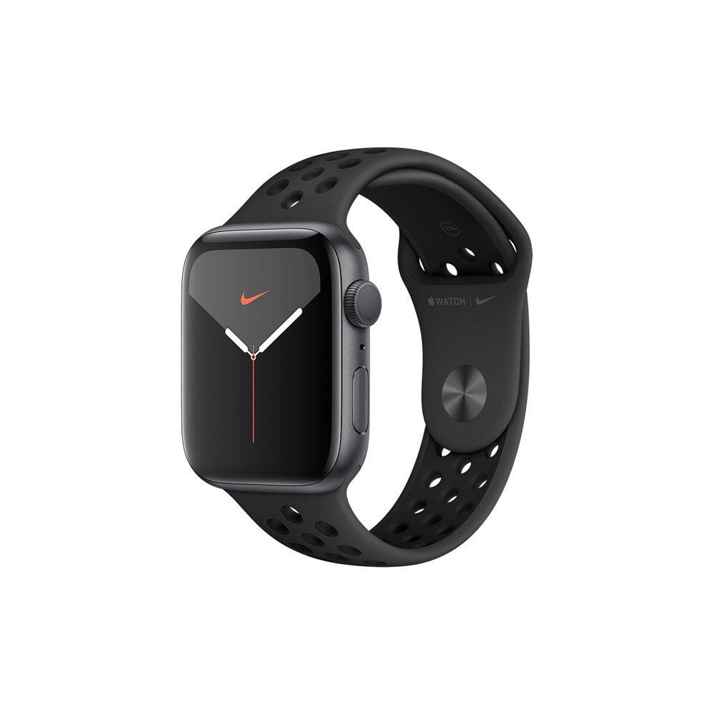 Apple Watch Nike Series 5 (GPS) 44mm Caixa de Alumínio com Pulseira Esportiva Preta unidade Apple  UN