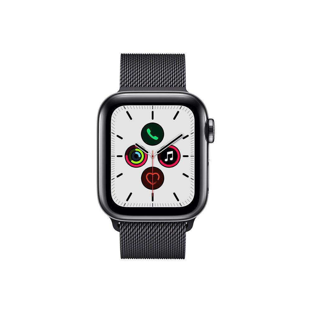 Apple Watch Series 5 (GPS + Cellular) 40mm Caixa de Aço Inoxidável com Pulseira Cinza Espacial unidade Apple  UN