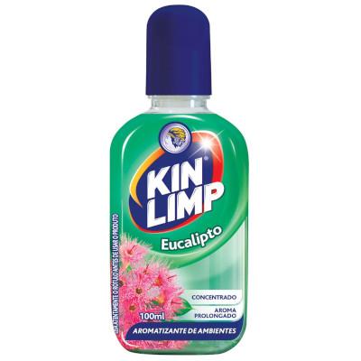 Aromatizante de ambientes eucalipto 100ml King Limp frasco FR