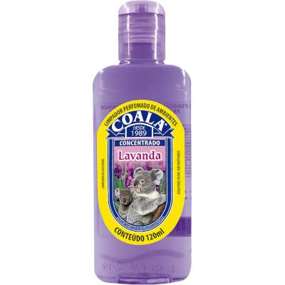Limpador Perfumado Lavanda 120ml Coala frasco FR