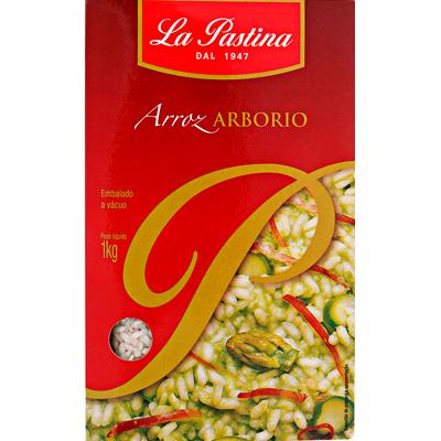 Arroz arbóreo 1kg La Pastina pacote PCT