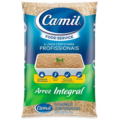 Arroz integral tipo 1 2kg Camil pacote PCT