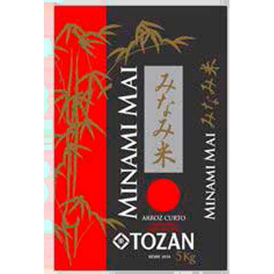 Arroz Japonês grão curto 5kg Minamimai pacote PCT