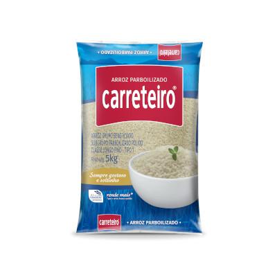 Arroz Parboilizado 5kg Carreteiro pacote PCT