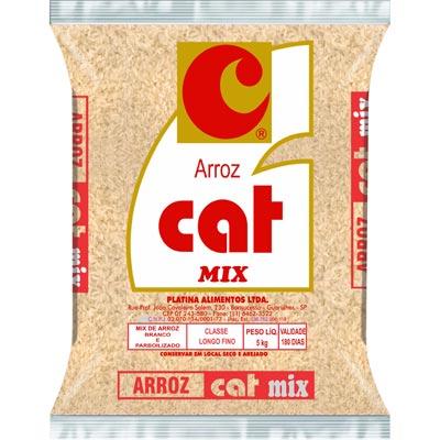 Arroz tipo 1 mix 5kg Cat pacote PCT