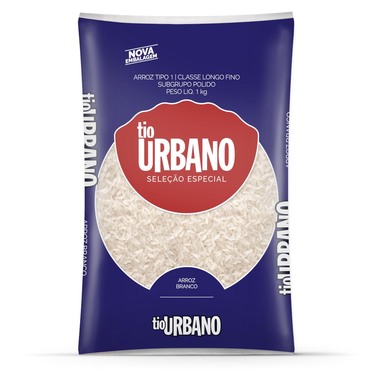 Arroz tipo 1 1kg Tio Urbano pacote PCT