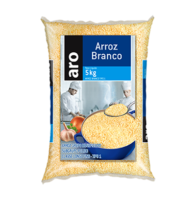 Arroz tipo 1 5kg Aro pacote PCT