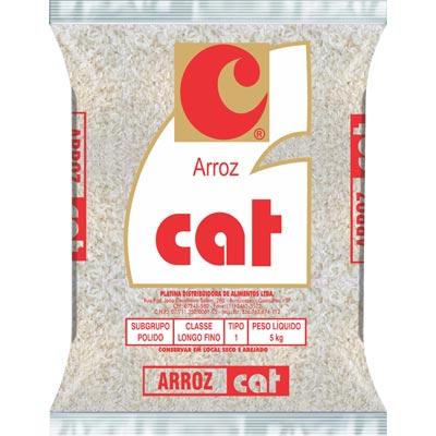Arroz tipo 1 5kg Cat pacote PCT