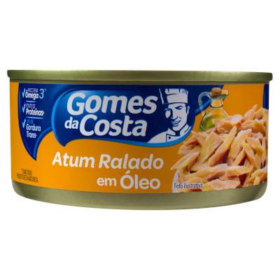 Atum ralado em óleo 170g Gomes Da Costa  UN