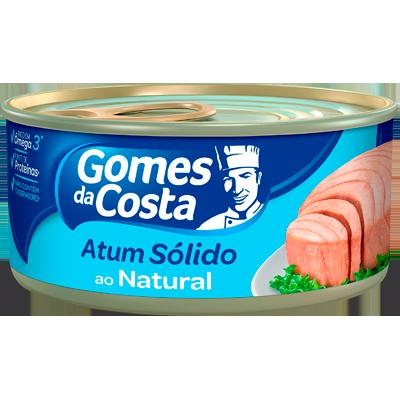 Atum sólido natural 170g Gomes Da Costa  UN