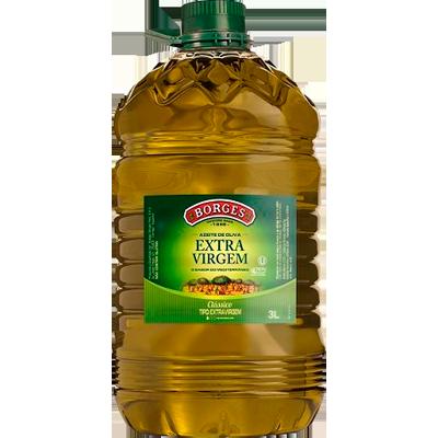 Azeite de Oliva extra virgem 3Litros Borges galão GL
