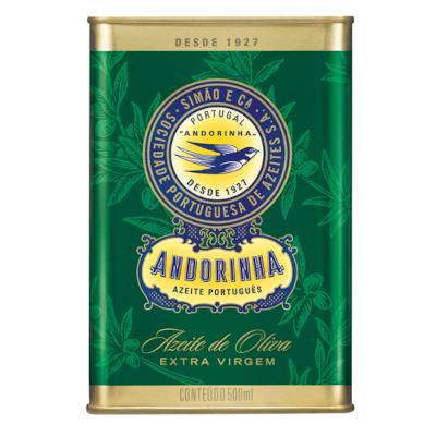 Azeite de Oliva Extra Virgem 500ml Andorinha lata UN