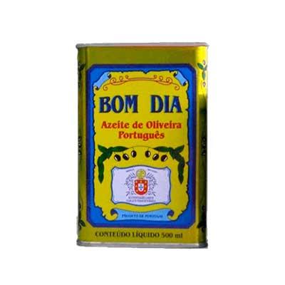 Azeite de Oliva extra virgem 500ml Bom Dia lata UN