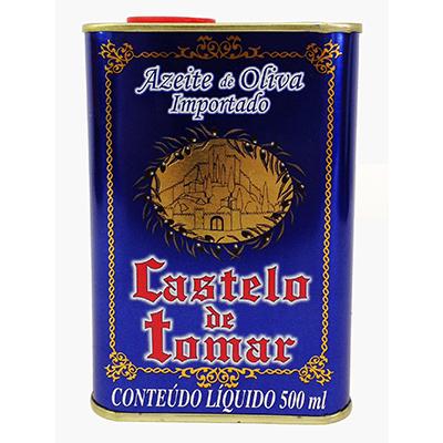 Azeite de Oliva extra virgem 500ml Castelo de Tomar lata LT