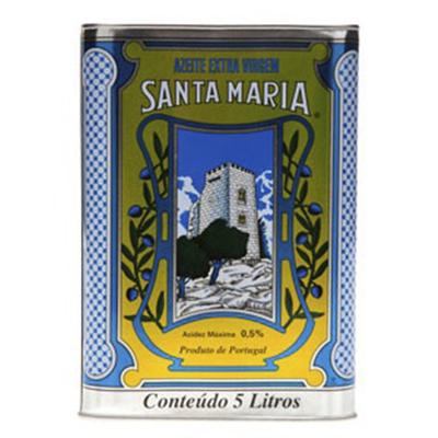 Azeite de Oliva extra virgem 5,1Litros Santa Maria lata LT