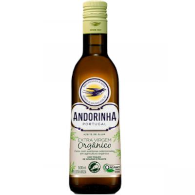 Azeite de Oliva extra virgem orgânico 500ml Andorinha vidro UN