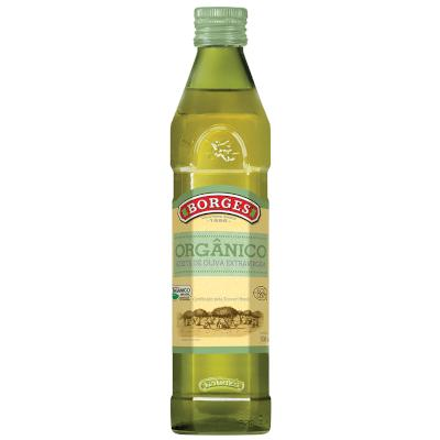 Azeite de Oliva Extra Virgem Orgânico 500ml Borges vidro UN