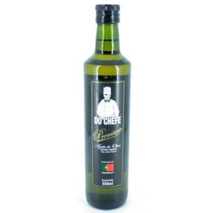Azeite de Oliva extra virgem 500ml Do Chefe vidro UN