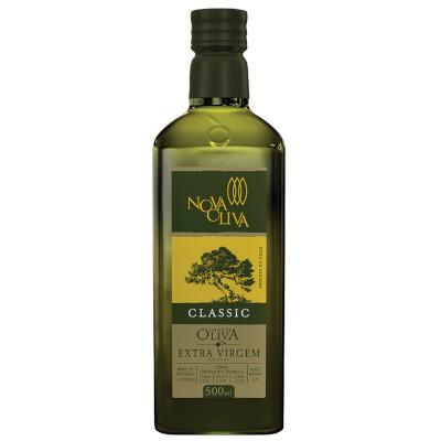 Azeite de Oliva Extra Virgem 500ml  Nova Oliva vidro UN