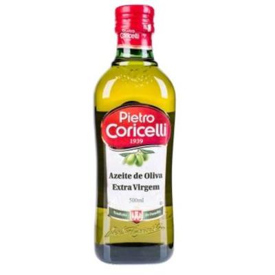Azeite de Oliva extra virgem 500ml Pietro Coricelli vidro UN