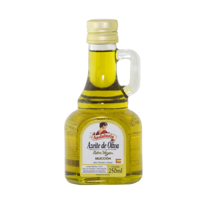 Azeite de Oliva extra virgem 250ml Andaluzia vidro (jarra) UN