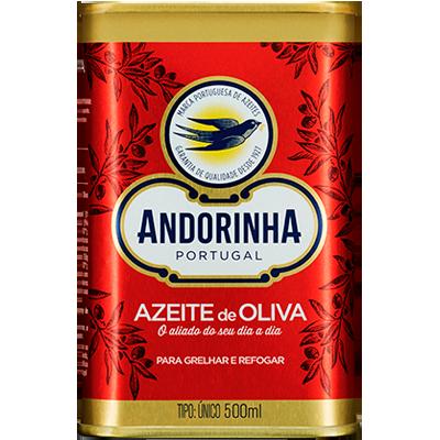 Azeite de Oliva tradicional 500ml Andorinha lata UN