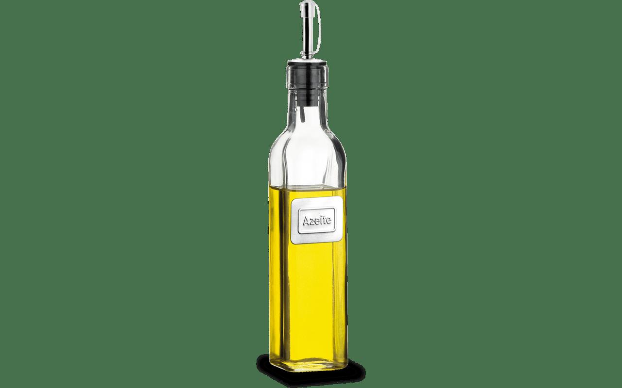 Azeiteiro Aço Inox e Vidro Parma 500ml Brinox  UN