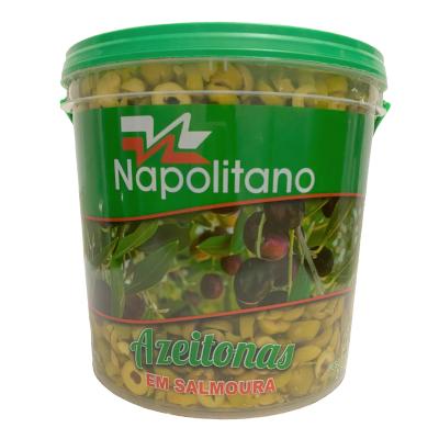Azeitona Verde Fatiada 2kg Napolitano balde BD