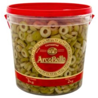 Azeitona Verde Fatiada 2kg ArcoBello balde BD