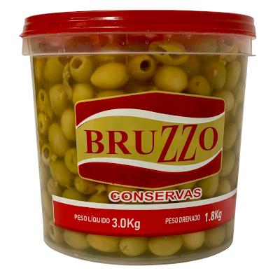 Azeitona Verde sem caroço 1,8 a 2kg Bruzzo balde KG