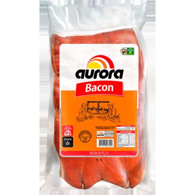 Bacon em manta por kg Aurora  KG