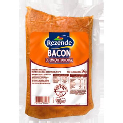 Bacon em manta por kg Rezende  KG