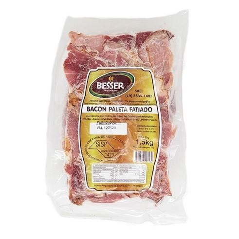 Bacon fatiado 1,5kg Besser pacote PCT