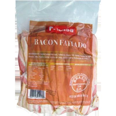 Bacon fatiado por kg Fricasa  KG