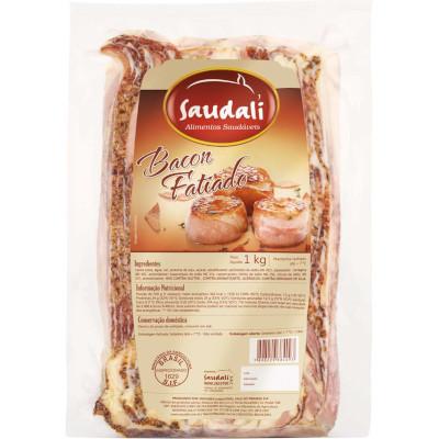 Bacon fatiado por Kg Saudali  KG