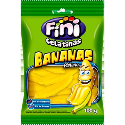 Bala de gelatina 90g Fini/Bananas pacote PCT