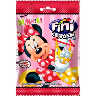 Bala de gelatina 90g Fini/Minnie pacote PCT