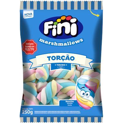 Bala de marshmallow 250g Fini/Torção pacote PCT