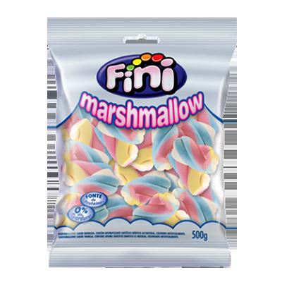 Bala de marshmallow 500g Fini/Torção pacote PCT
