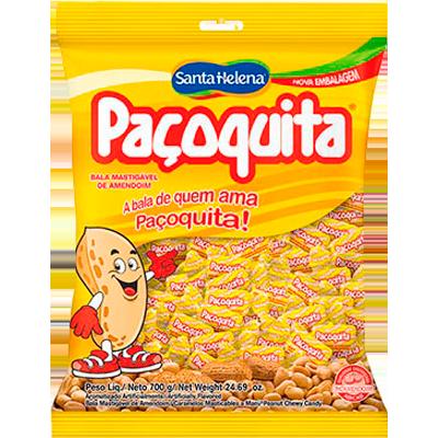 Bala  600g Santa Helena/Paçoquita pacote PCT